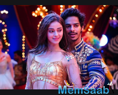 Young stars Ishaan Khatter and Ananya Panday recalled the fun time they had playing the protagonists Blackie and Pooja in the action-comedy Khaali Peeli.