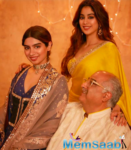 Earlier, Janhvi Kapoor was seen sharing adorable pictures from her Diwali celebrations.