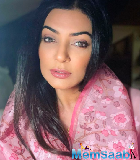 Sushmita Sen says she cannot live with the idea of spending big amounts of money on clothes or shoes just to be photographed once in it, and that is why she likes to repeat what she wears.