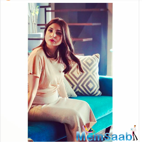 Earlier, Anushka Sharma shared a glimpse of her work schedule, as she stepped out in style to start shooting for her brand commitments.