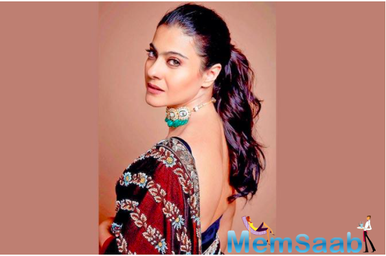 We have always seen Kajol spread positivity amongst the fans with her outgoing personality.