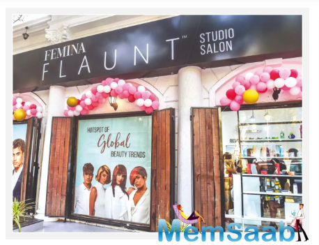 Femina FLAUNT Studio Salon is designed to be a hotspot to ignite ideas for self-expression.