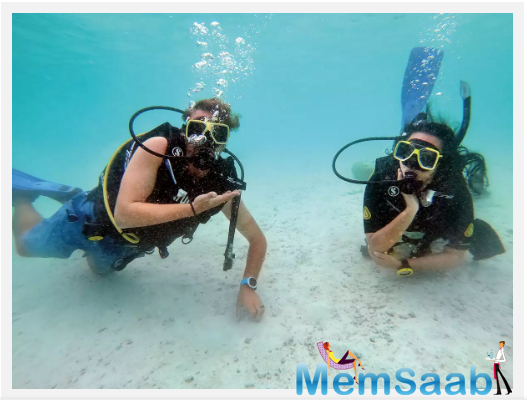 On the first day of the course, they made me watch a five-hour video on scuba diving, post which, I had to answer a quiz; the answers were reviewed later. On the second day, my trainer, Mohammed, asked me to be present at the centre at 8 am.