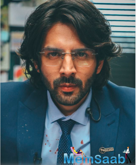 In the film, Aaryan will play a journalist who covers the live broadcast of a terror attack in Mumbai.
