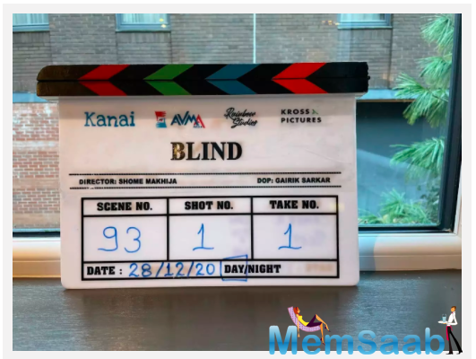 Directed by Shome Makhija, the actress has started shooting for the action thriller today in Glasgow, Scotland.