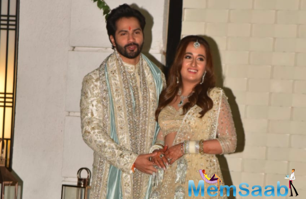 Ever since news about the couple's wedding broke out, social media has been flooded with #varunkishadi and other trends, celebrating the happy news.
