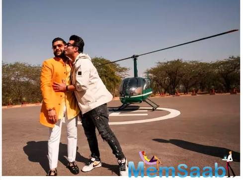 The ceremony was held at Umaid Bhawan Palace. Varun reported back to his shoot the very next day.