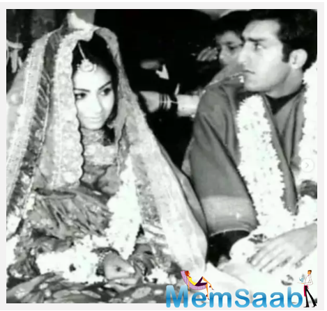 Recently, she shared beautiful wedding pictures of Saif and Kareena Kapoor Khan, and also her parents Sharmila Tagore and Mansoor Ali Khan.