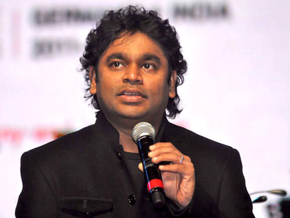 A R Rahman performs on the Stege