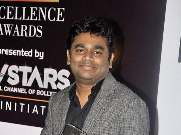 AR Rahman at FICCI Frames Excellence Awards 2012