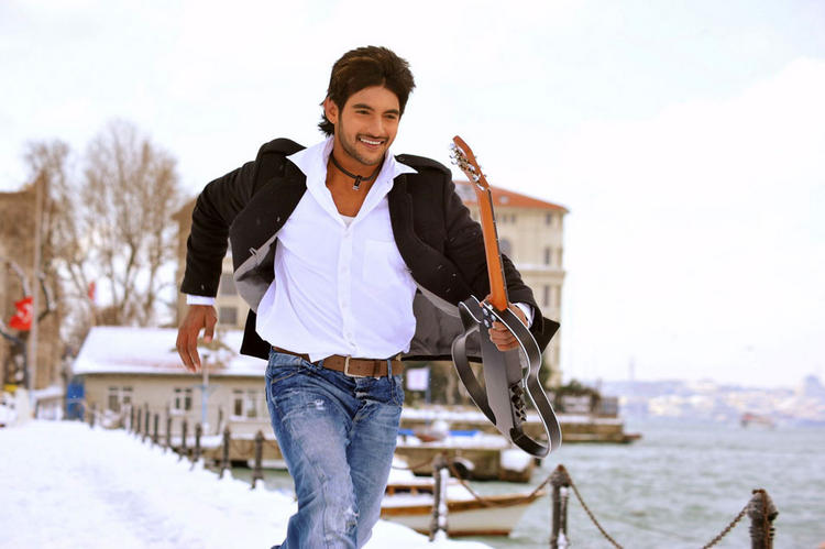 Aadi Lovely Movie running still