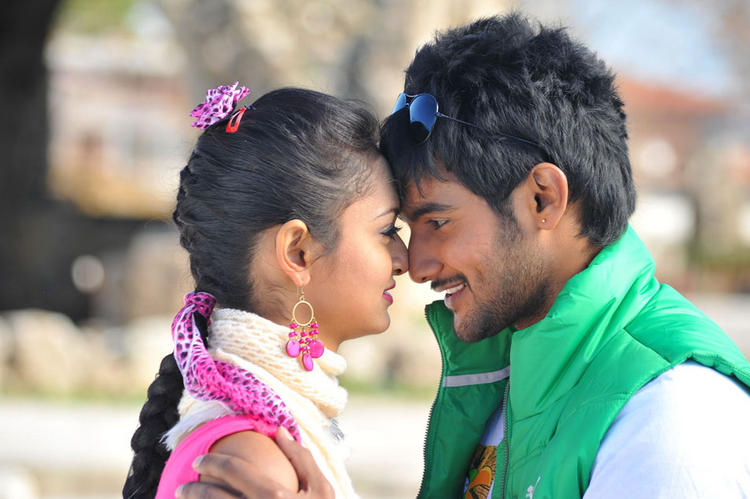 Aadi and Shanvi romance still in Lovely