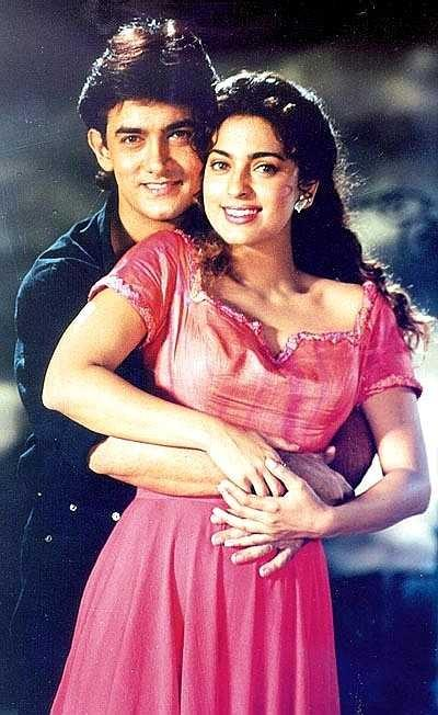Aamir Khan and Juhi Sexy Pic