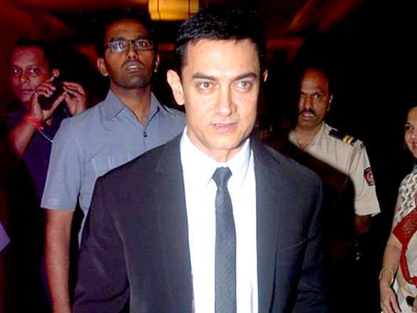 Aamir Khan at CNN IBN Heroes Awards