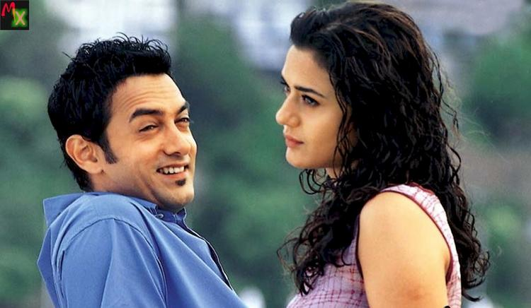 Aamir and Preity in Dil Chahta Hai