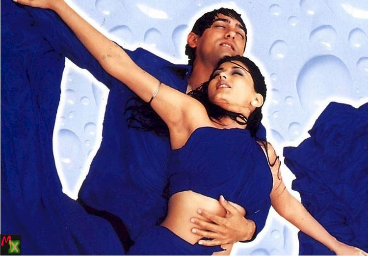 Aamir and Sonali in Sarfarosh