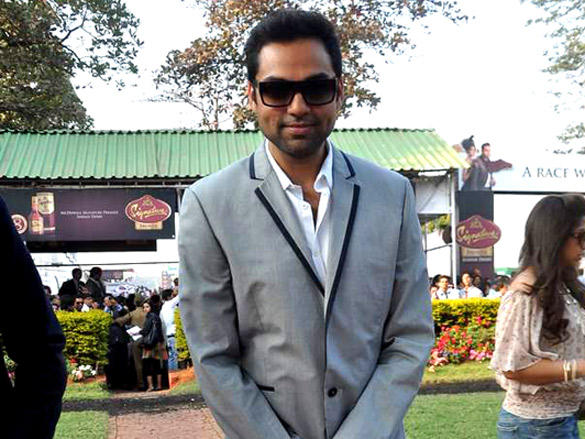 Abhay Deol at McDowell Signature Premier Indian Derby
