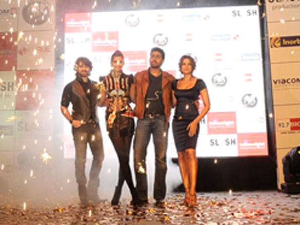 Abhishek, Sonam, Bipasa and Neil at Inorbit Mall to Promote