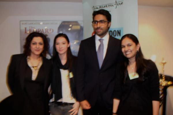 Abhishek Bachchan Poses To Photoshoot at the London Asian Film Festival