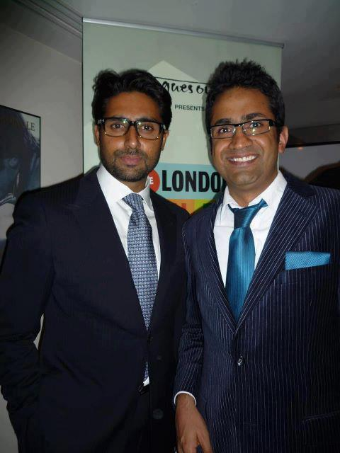 Abhishek Bachchan at the London Asian Film Festival