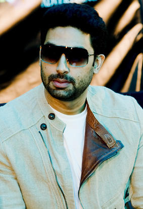 Abhishek in Dubai to promote his movie