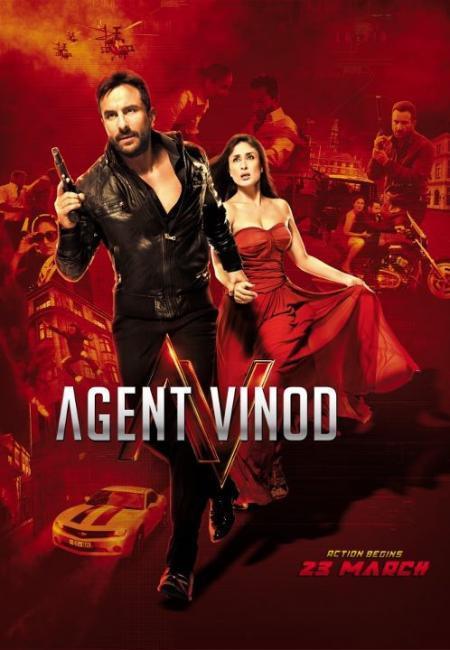 Agent Vinod New Movie Poster