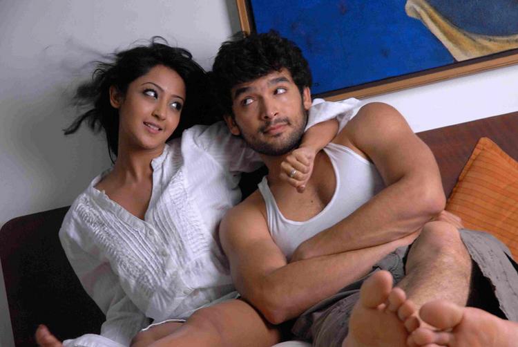 Aindrita Ray,Diganth Parijatha movie cute hot still