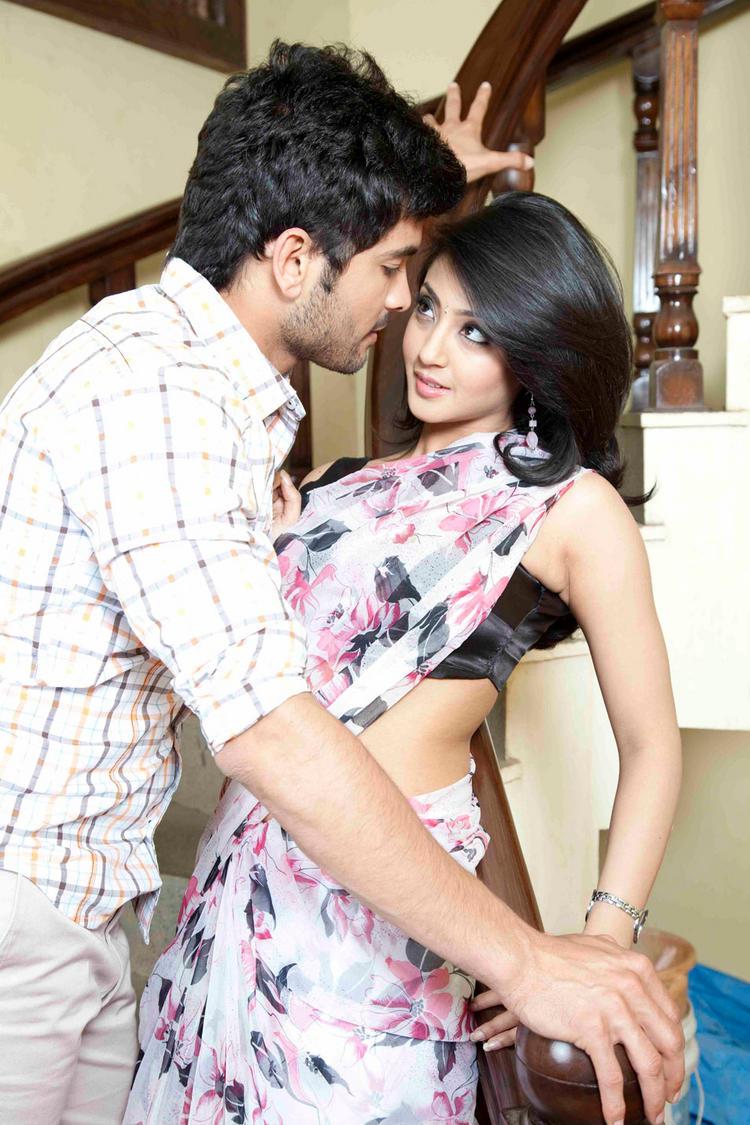 Aindrita Ray,Diganth Parijatha movie sexy still