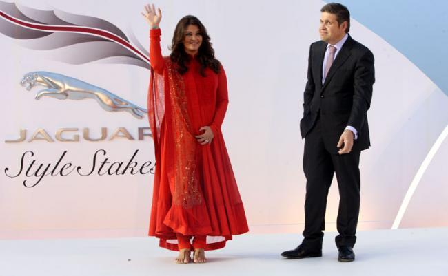 Aishwarya Rai Bachchan Attended the Dubai World Cup