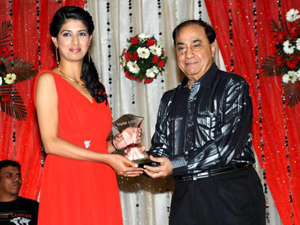 Aishwarya Sakhuj with awards