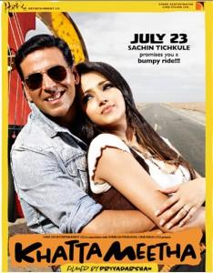Akshay and Trisha Sexy Still In Khatta Meetha