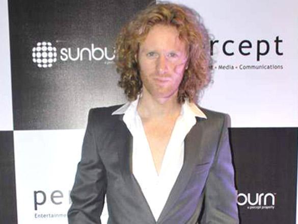 Alex O'Neil at Sunburn Awards 2012