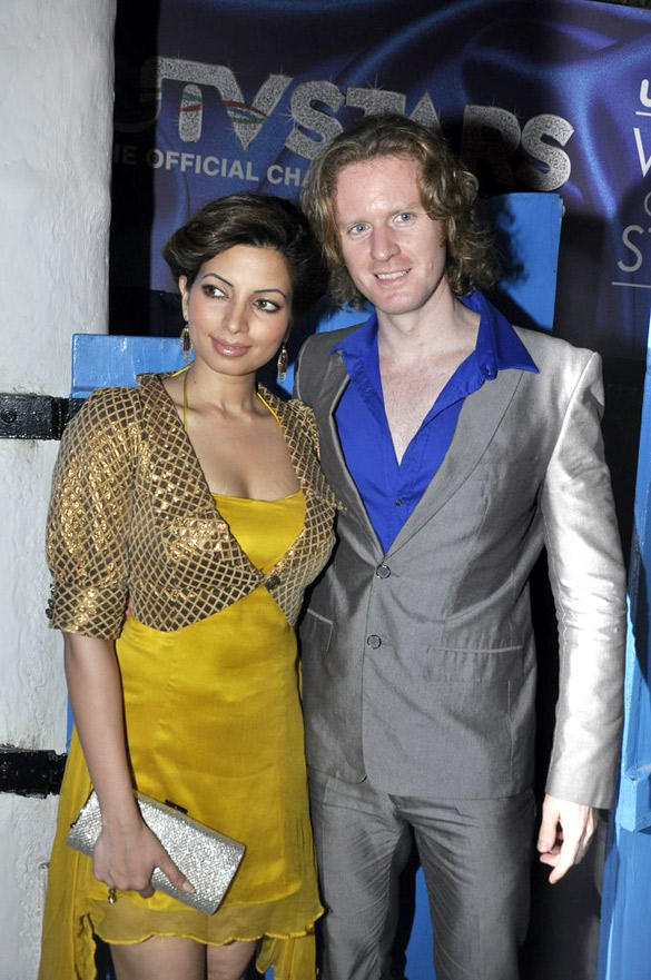 Alex O Neil,Shama Also Attended UTV Stars Walk Of The Stars After Party Event