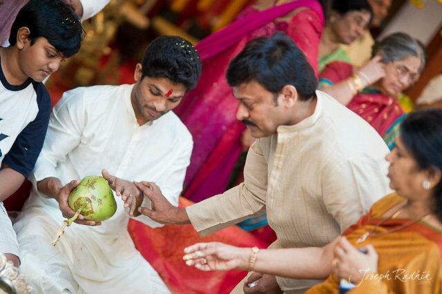 Allu Arjun Groom Marriage Still
