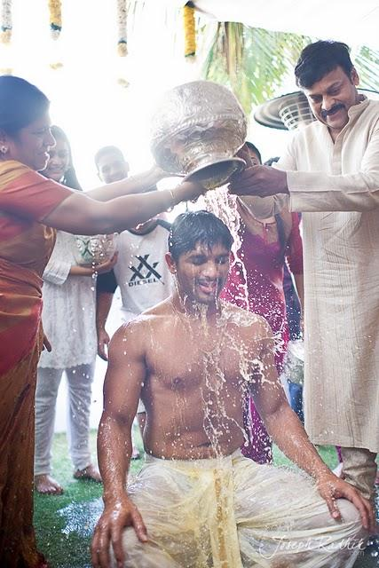 Allu Arjun Groom Marriage Swim Still
