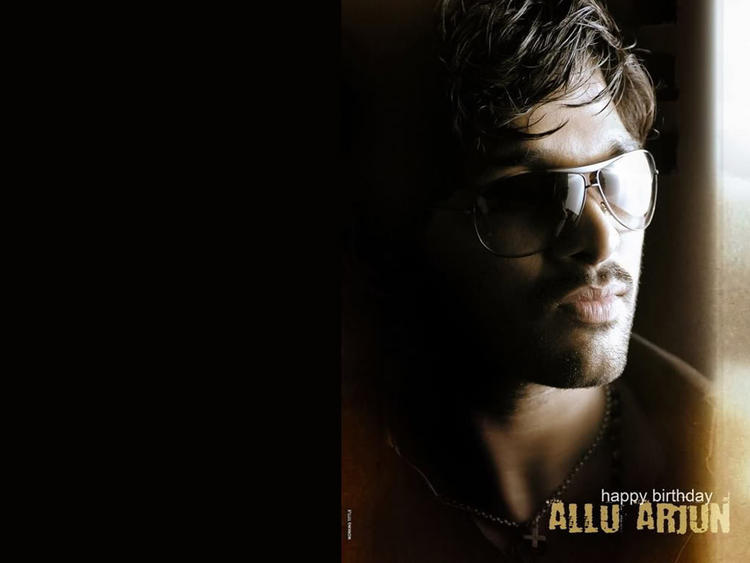 Allu Arjun Hot Stylist Look Wallpaper