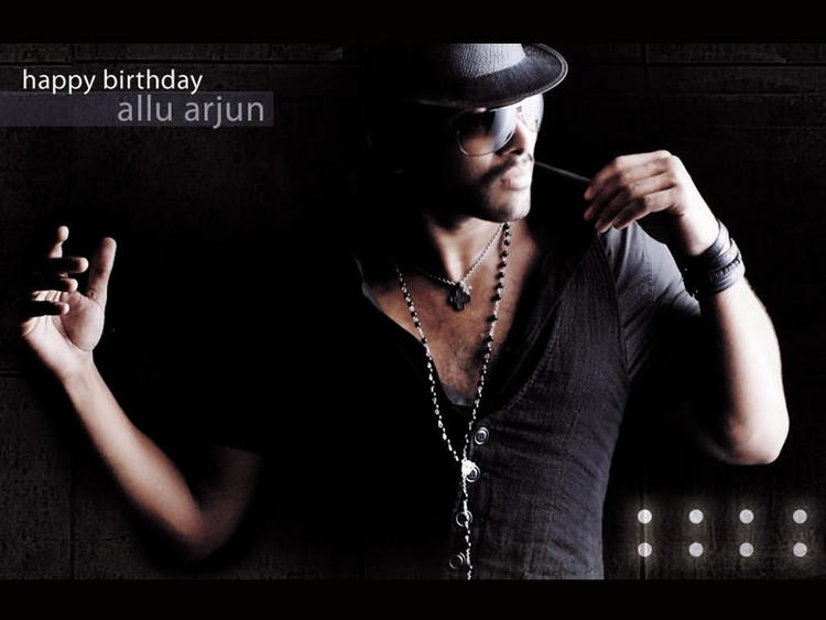 Allu Arjun Latest Stylish Wallpaper