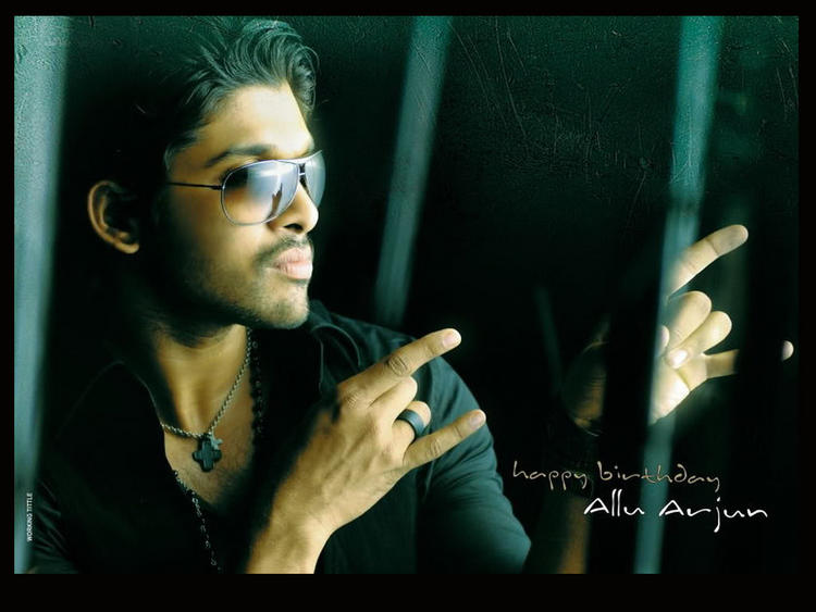 Allu Arjun Sexy Stylish Wallpaper