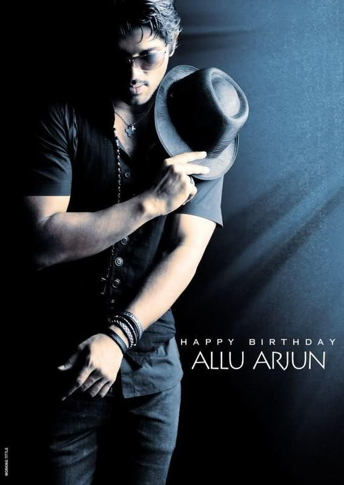 Allu Arjun Stylish Wallpaper