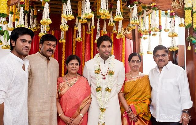Allu Arjun Wedding Still