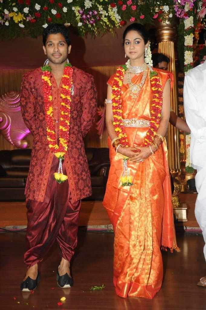 Allu Arjun and Sneha Reddy Latest Pic