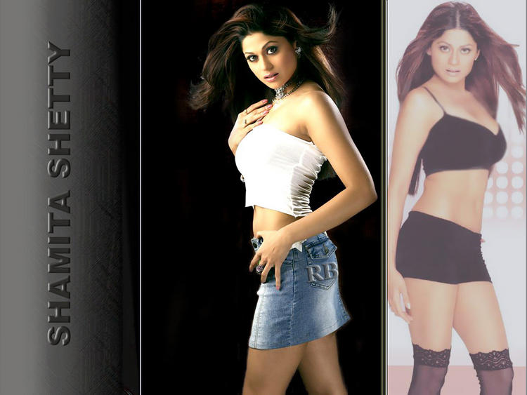 Amazing Shamita Shetty Wallpaper