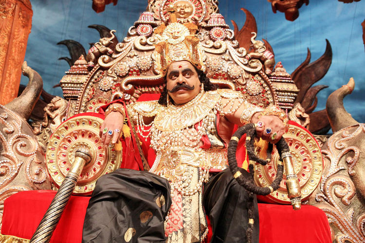 Ambarish Angry Still in Katari Veera Surasundarangi Movie