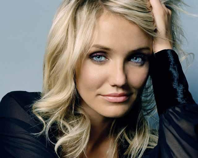American Actress Cameron Diaz Sexy Face Still