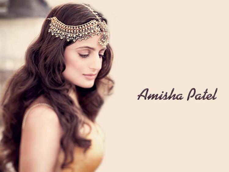 Amisha Patel in Arabian Nights Makeup