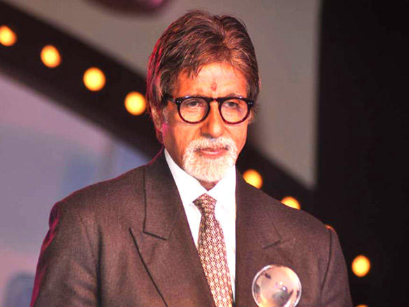 Amitabh Bachchan on stage at IDMA Conference