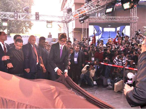 Amitabh Bachchan unveils India's First Super Car
