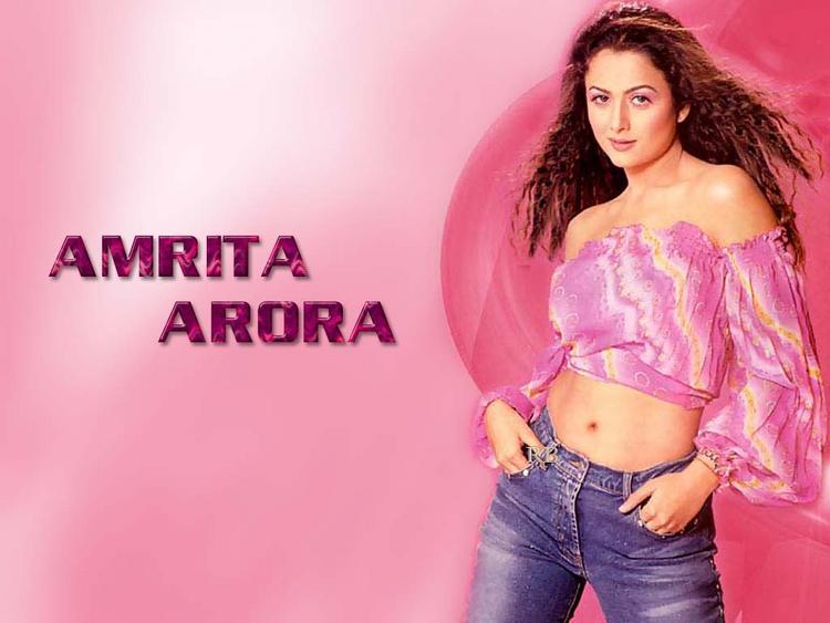 Amrita Arora Sexy Look Wallpaper
