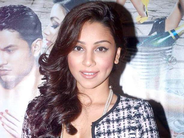 Amrita Puri Gorgeous Still at Blood Money Promotional Event