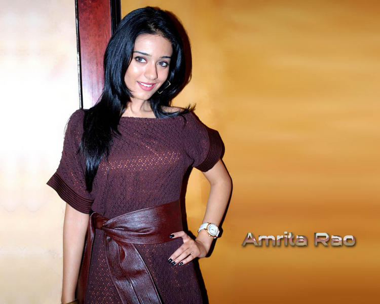 Amrita Rao Cute Face Wallpaper